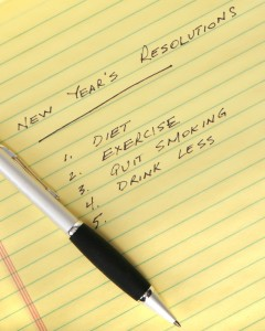 new years resolutions, incomplete