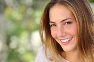 Smiling Girl Next Door