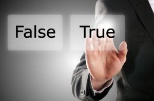 True or false Hand