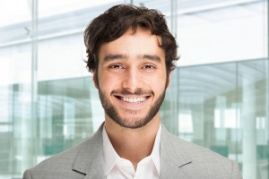 guy with healthy smile