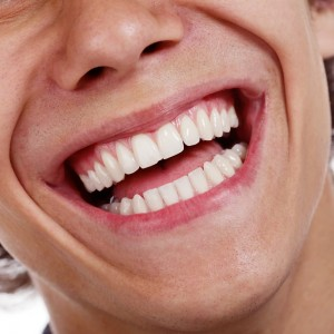Close up Male Smile